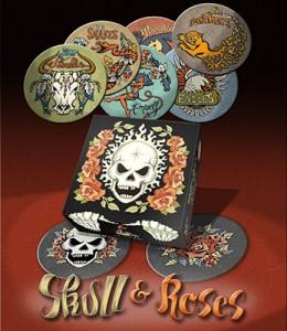 skull-et-roses